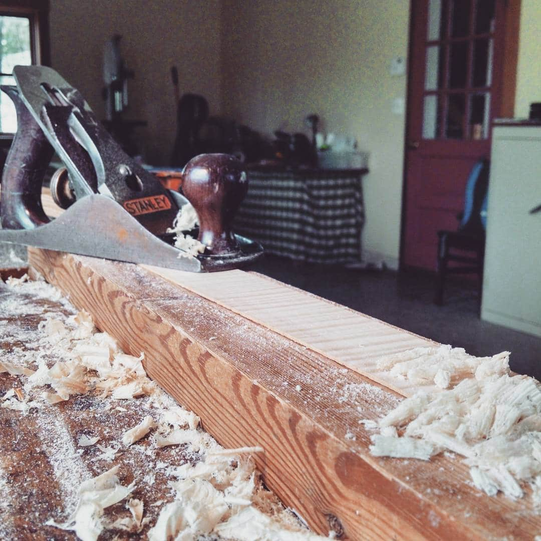 Preparation of ribs for a 16″ viola